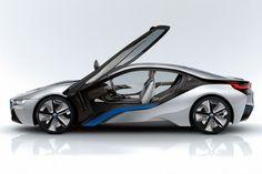 BMW i8 concept hybrid sports car