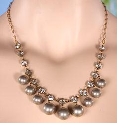 Anne Koplik Designs - 1950's Style Platinum Silver Bead