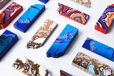 Arjowiggins x FIAC on Behance - strikingly gorgeous bookmarks