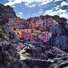 The scenic waterfront villages that make up Cinque Terre are among the world's most colorful destinations.