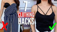 7 Clothing Hacks EVERY Girl MUST Know !!
