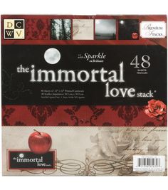 Die Cuts With A View Premium Cardstock Stack Immortal Love at Joann.com