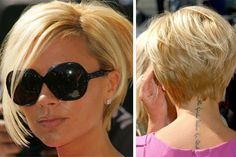 Victoria Beckham Hair , love it. Wish I had thicker hair so I could pull this off@!