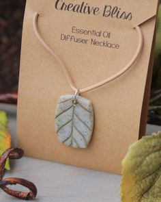 Essential Oil Diffuser Necklace Handmade Necklace Clay Ceramic Pendant, Ceramic Jewelry, Ceramic Beads, Clay Jewelry, Beaded Jewelry, Native American Jewellery, American Jewelry, Diffuser Jewelry, Diffuser Necklace