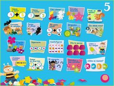 Jugando y aprendiendo juntos: Papelillos 5 años Ed. Algaida. Juegos digitales… Online Logo, Spanish Class, Math, Learning, Apps, Editorial, Html, Anaya, Homeschooling