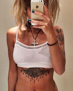 Inspire-se: 21 tatuagens na região de cima da barriga | Estilo                                                                                                                                                                                 Mais