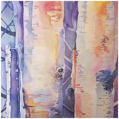Watercolor classes from Angela Fehr.