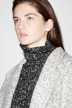 Image 1 of Look 2 from Zara Look Fashion, Womens Fashion, Fashion Design, Zara Mode, Fashion Catalogue, Minimal Chic, Zara United States, Pulls, Editorial Fashion