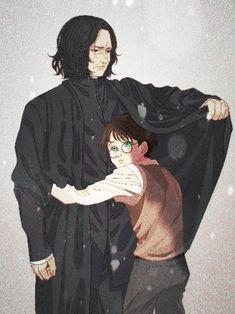 Snape Harry, Severus Snape, Mentor Mentee, Harry Potter Animé, Severus Rogue, Half Blood, Diabolik Lovers, Drarry, Father And Son
