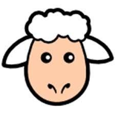 Image result for sheep paper bag puppet