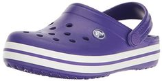 Crocs Crocband, Crocs Shoes, Footwear Shoes, Toddler Crocs, Clogs Outfit, Street Style 2017, Strap Heels, Partner, Ultra Violet