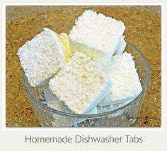 Homemade Dishwasher Tabs