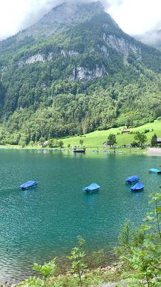 Klöntalersee, Switzerland Best Of Switzerland, Zurich, Gaia, Day Trip, Serenity, The Incredibles, Travel, Viajes, Trips