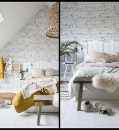Cabeceros de Cama: Encuentra aquí + 50 Diy para hacer el tuyo propio Diy Projects To Try, Living Room Decor, Bed, Furniture, Macrame, Home Decor, Rural House, Amor, Nordic Bedroom