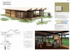 Galeria de NKA Foundation anuncia os vencedores da Arts Housing Competition em Gana - 8