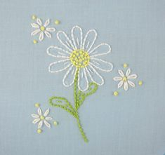 Wonderful Ribbon Embroidery Flowers by Hand Ideas. Enchanting Ribbon Embroidery Flowers by Hand Ideas. Embroidery Transfers, Hand Embroidery Patterns, Embroidery Applique, Cross Stitch Embroidery, Flower Embroidery, Embroidery Sampler, Machine Embroidery, Brother Embroidery, Basic Embroidery Stitches
