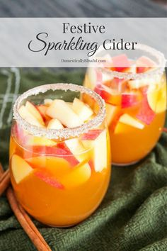 Festive Sparkling Cider is filled with the crisp flavors of fall & sparkling chill of winter making it the perfect non-alcoholic beverage for the holidays! I love the holidays! And truth be told one of my favorite reasons for loving this time of year is all of the yummy food. I love to eat & I...