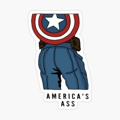 Captain America stickers featuring millions of original designs created by independent artists. Bubble Stickers, Meme Stickers, Cool Stickers, Laptop Stickers, Homemade Stickers, Wallpaper Stickers, Journal Stickers, Aesthetic Stickers, Glossier Stickers