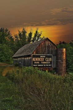 Kentucky Club - Farmers are paid to advertise one of the states largest cash crops.