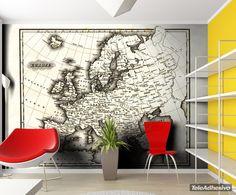 Fotomurales: Mapa Mundo #decoracion #deco #fotomural #vinilo #mapa