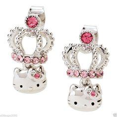 Hello Kitty earings