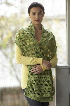 Ravelry: Elegant Simplicity Shawl pattern by Lion Brand Yarn