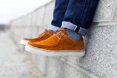 Veras Launch the Braga, A Modern Moc-Toe Shoe Best T Shirt Designs, Minimal Fashion, Minimal Style, Fashion Advice, Fashion News, Men's Fashion, Creative Shirts, Best Mens Fashion, Toe Shoes