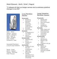 Meridians and Emotions – Metal Element – Large Intestine Meridian » Natural Health Community