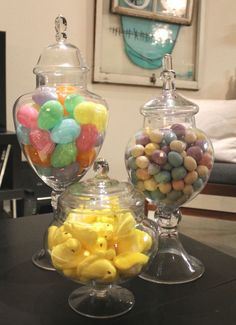 easter apothecary jars via #mintlovesocialclub