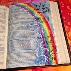 Matthew 8: 23-27. Why are you fearful??? We serve a God that commands the winds and sea to obey.  While at the beach, I saw a rainbow and…