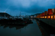 First buyer receives a complimentary photo of the same size // Zhoushan, Southeast China, Fish market, Night market, Night view, Seafood