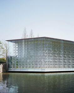 Jun Aoki & Associates: white chapel, osaka, japan