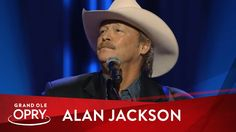 """Alan Jackson - """"He Stopped Loving Her Today"""" at George Jones' Funeral   ..."""