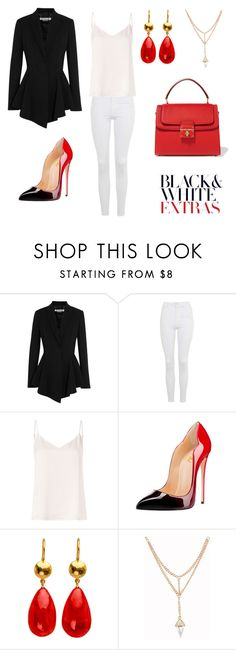 """Untitled #132"" by acaguiar on Polyvore featuring Givenchy, Topshop, L'Agence and Dolce&Gabbana"