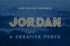 Jordan - Display Font by MIIM on @creativemarket