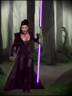 Evil Queen, Star Wars Style Lana Parrilla-France..Facebook