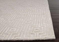 Ivory Contemporary Geometric rug