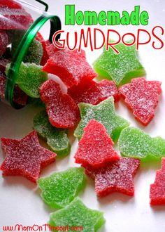 Homemade Gumdrops   MomOnTimeout.com #recipes #Christmas