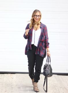 Top 5 Oversized Flannel Shirts - How to wear a flannel shirt - Fashion Inspiration, Style Guide, Fall and Winter Street Style