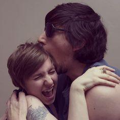 Lena and Adam. <3