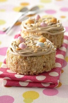 Gâteau de Pâques: le nid de Pâques - Envie de Plus