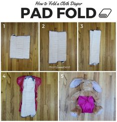 Pre-folding your cloth diapers may seem like an overwhelming task, especially if you don't know how to do it. Here's a step-by-step guide on how you can pre-fold cloth diapers easily. Couches, Prefold Cloth Diapers, Reusable Diapers, Diaper Bag Backpack, Diaper Bags, Diaper Cake Instructions, Diaper Bag Essentials, Diaper Wreath, Baby Milestones