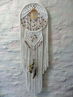 birdcage macrame - just without the birdcage