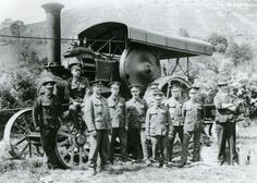 A Fowler traction engine | Peoples Collection Wales
