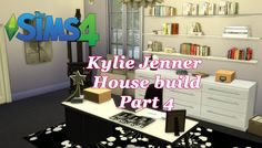 The Sims 4 - Kylie Jenner House Build CC - Office(Part 4) #sims4 #sims4cc #thesims4 #kyliejenner