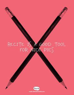 Recite: a good tool for nice pics (for free!) #grafik