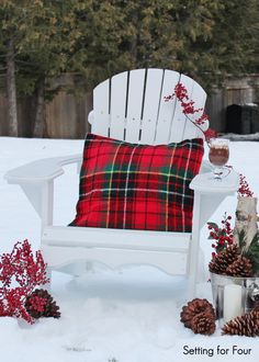Christmas outdoors