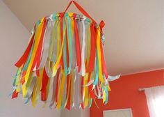 DOEHLER DAYS: DIY Ribbon Mobile
