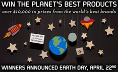 In celebration of Earth Day, we're excited to announce our partnership with Conscious Box! Together, we're giving away over $10,000 in products with dozens of other purpose driven companies in their Discover the Planet Sweepstakes. Enter the giveaway at www.cbox.co/bestplanet