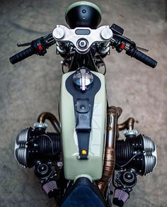 The Man & The Machine Ironwood Custom Motorcycles transformed a 1985 BMW Moto Scrambler, Scrambler Custom, R Cafe, Cafe Bike, Bmw Boxer, Bmw Cafe Racer, Cafe Racers, Harley Davidson, Motorcycle Design